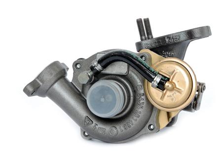 Turbocompressore-Ricostruito